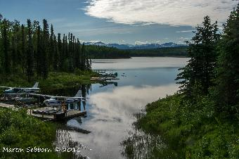 Float planes and scenery - that