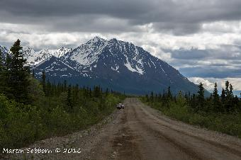 The Denali Highway - the middle of nowhere!
