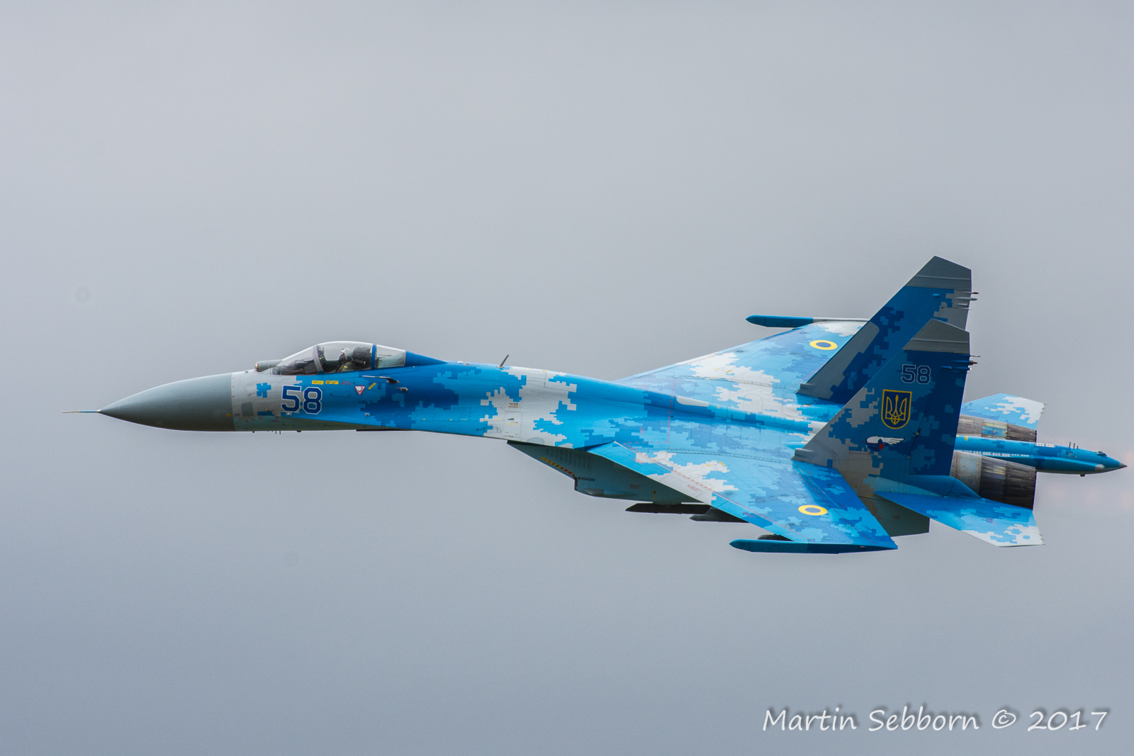 "SU27 ""Flanker"", displayed by Ukraine Air Force - look how big it is!"