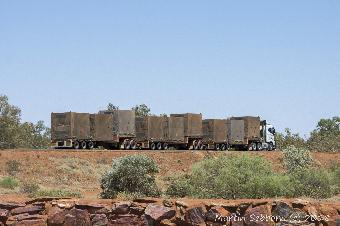 Road train - they are fun to overtake....