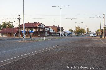 The hotel at Mount Magnet