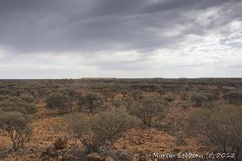 The vastness of the outback