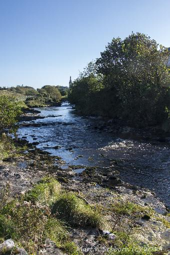 The river at Easkey
