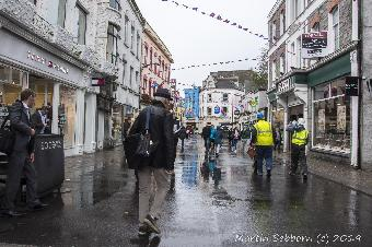 A wet Galway City