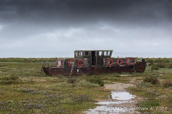 Wreck at Blakeney