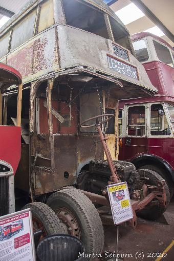 Wythall Bus Museum - Fixer-upper