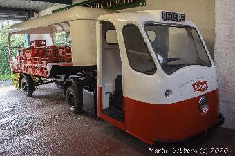 Wythall Bus Museum - Articulated Milk Float!